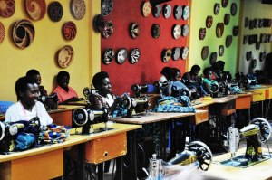 Women working at Gahaya Links